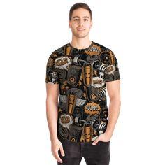 Best T Shirt Designs, Fitness Design, Cool T Shirts, Street Wear, Short Sleeves, Men Casual, Unisex, Tees, Graffiti