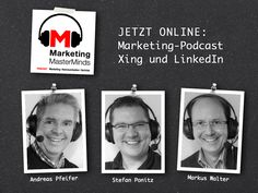 Jetzt Online: #Podcast Marketing MasterMinds zumThema Xing und LinkedIn http://www.fokus-ecommerce.de/marketing-masterminds-e06-xing-undlinkedin/