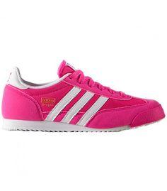 adidas dragon j rosa
