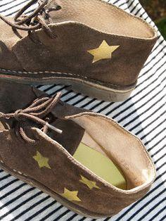 "customisation de chaussures style ""clarks"""