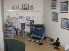 My little work corner at home.