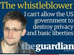 Edward Snowden News.….. The Whistle Blower