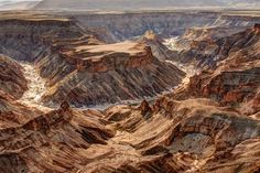 Fish River Canyon Photo by Cezary Filew -- National Geographic Your Shot