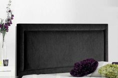 Luxury Chenille Fabric CHARLIE Headboards Small Large Bedroom Home All Sizes New
