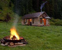 Luxury resort with hot springs in Colorado's San Juan Mountains. You stay in cute cabins!
