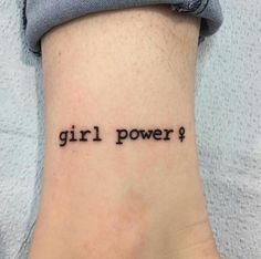 Resultado de imagem para girl power tattoo designs