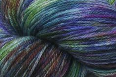 "littledogdesigns on Etsy ""Colorado"" hand-dyed Fido sock yarn 100% superwash Merino wool"