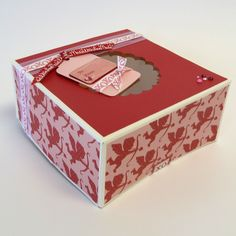 We made valentine card boxes out of shoe boxes for school