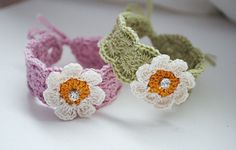 Crochet baby bracelet crochet baby anklet by DancingCloudsandmore
