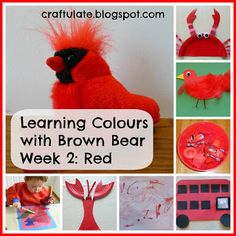 This is the second in my series about Learning Colours, based on the animals in the book Brown Bear, Brown Bear What Do You See?