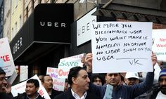 Uber built a following quickly because it was cheap and easy to book - if only its drivers weren't protesting against their treatment