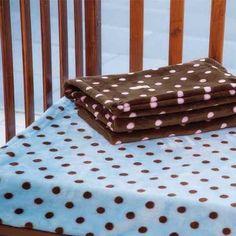 cobertor ligero para cuna de bebe microfibra calido azul