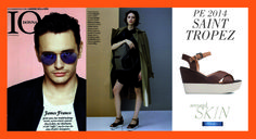"""Saint Tropez by Second Skin sandal, on the latest """"Io Donna"""" issue!"""