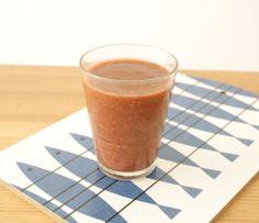 smoothie pourpier, kiwi, framboises