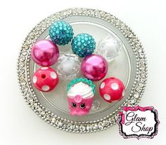 JUST RELEASED Sprinkle Party Collection Shopkins by GlamShopBeads