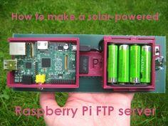 How to make a Raspberry Pi solar-powered FTP server   Reviews   CNET UK