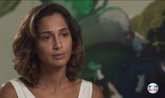 Camila Pitanga fala sobre morte de Domingos Montagner; veja entrevista