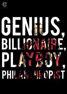 Genius, billionaire, playboy, philanthropist by ClarkArts24