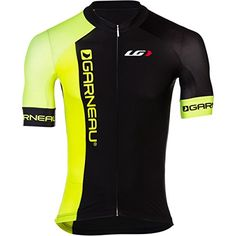 Louis Garneau Corsa 2.0 Jersey - Men's Black/Bright Yellow, XS - Men's Louis Garneau http://smile.amazon.com/dp/B00OA11CRA/ref=cm_sw_r_pi_dp_l-s2vb1JJ5YY6