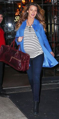 Blake Lively's Best Maternity Style Moments - December 5, 2014 - from InStyle.com