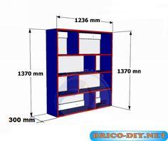 Bricolaje-Diy Planos gratis Como hacer muebles de melamina madera y Mdf   Web del Bricolaje Diseño Diy