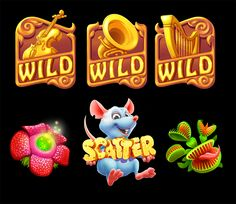 Icons for gambino slots on behance game logo, game ui, game art, game de Jack O'connell, Peter O'toole, Cat Treats, Healthy Dog Treats, Las Vegas, Zootopia, Hot Rods, Nascar, Party Friends