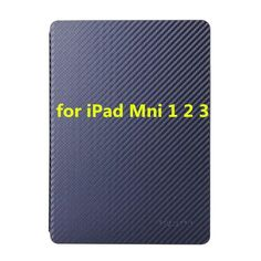 New Fashion Carbon Fibre Style Smart Cover for iPad Mini