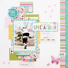 happy fluffy: Easter & Spring Themed Layouts