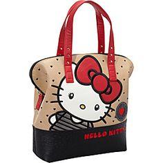 Loungefly Hello Kitty Big Bow Bag - Tan/Multi - via eBags.com!