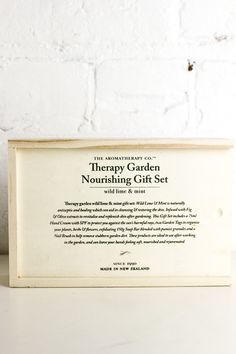 Gardener's Nourishing Hand Gift Set