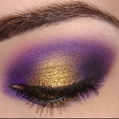 MN Vikings eyes for purple pride day. So many crossed fingers and lots of high hopes!