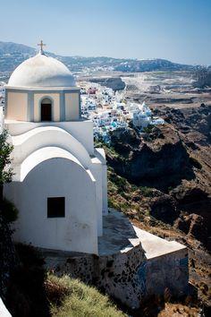 Church in Santorini, Greece *
