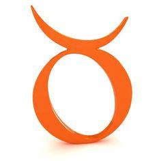 signo tauro en simbolo