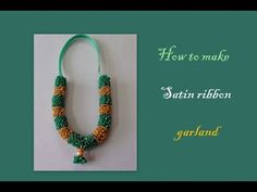 Organza & Satin Ribbon Flower | MyInDulzens - YouTube