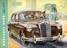 """Ponton-Mercedes"" Typ 180 D"