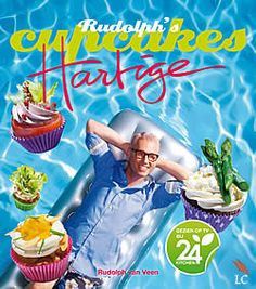 """Boek """"Rudolph´s hartige cupcakes"""" van Rudolph van Veen   www.kopgroepbibliotheken.nl"""