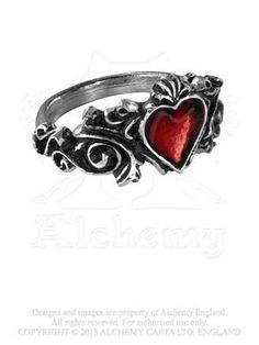 Betrothal-Ring-Size-Q-US-8-by-Alchemy-Gothic-England-0