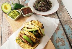 Vegan Portobello Tacos (Great for Super Bowl Sunday)
