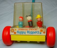 Vintage Fisher Price Little People Happy by BeautifulOldThings, $29.99