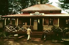 Timboroa, at 9001 feet above sea level, is the highest station on a main line anywhere in the Commonwealth. The building is typical of many stations in the Kenya Highlands. Compare this photograph with the one of Plateau - PHOTO Malcolm McCrow Out Of Africa, East Africa, Karen Blixen, Dar Es Salaam, Sea Level, Nairobi, African History, Commonwealth, Historical Photos