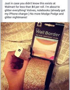 Mini wall border