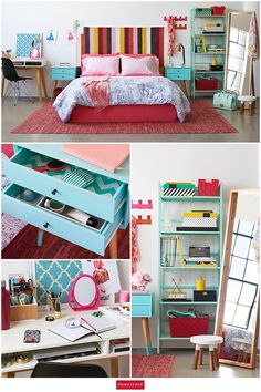 Your bedroom is more than just a place to sleep, it's a chance to show off your style. Find affordable design inspiration at HomeSense. Mix patterns and colors to create a space you love to spend time in. One of our favorite decor hacks: Line the drawers of a side table with inexpensive gift-wrap for instant customization.