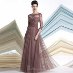 Cheap lace dress bridesmaid, Buy Quality lace turtleneck dress directly from China lace tulle dress Suppliers:           Modest Sweetheart A-line Purple Chiffon Pleats Beaded Floor length Long Prom Dresses Evening Party Gown 2013 F