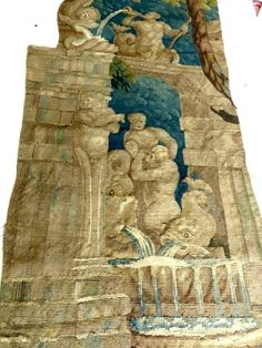 17th/18th century tapestry fragment