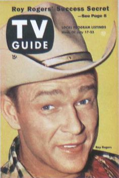 Roy Rogers TV guide cover