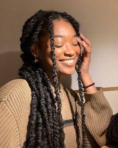 Black Girl Braided Hairstyles, Black Girl Braids, Girls Braids, Black Box Braids, Black Women Hairstyles, Baddie Hairstyles, Box Braids Hairstyles, Twist Hairstyles, Box Braids Sizes