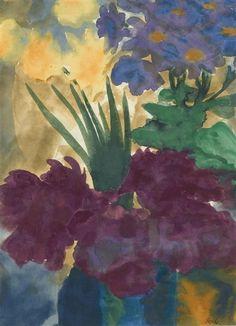 Emil Nolde, Bouquet of flowers