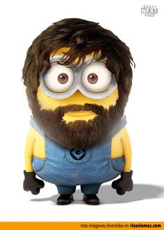 Zach Galifianakis como un Minion.