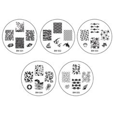 Bundle Monster 10pc Nail Art Stamping Image Plates - Sun Kissed Collection * You can find out more details at the link of the image.