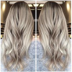 Beige blonde by Maxime. A balayage and babylites combo. #babylights #balayage…